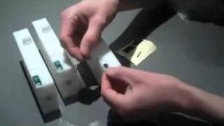 Permajet 3800 & 3880 Refillable Cartridges - Procedure for fitting Epson chips