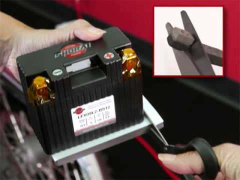 Shorai Lithium Motorcycle Battery Install Guide