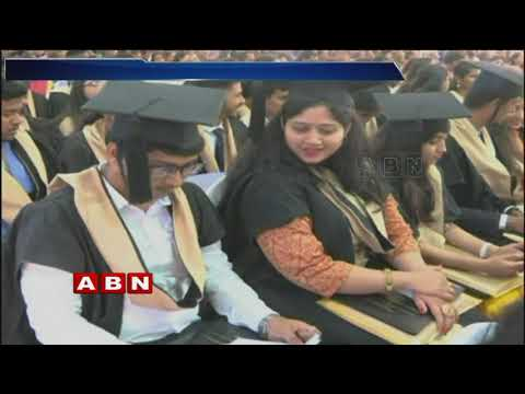 MS Ramaiah University Gives 32 Medals at Convocation | ABN Telugu