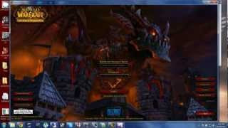 "FREE WOW PRIVATE SERVER 4.3.4 With wow News addon ""just updated on 10/18/2012"""