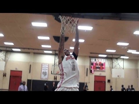 Roddy Peters Scores game high 24 in last HS game of career - Highlights 12-20-12
