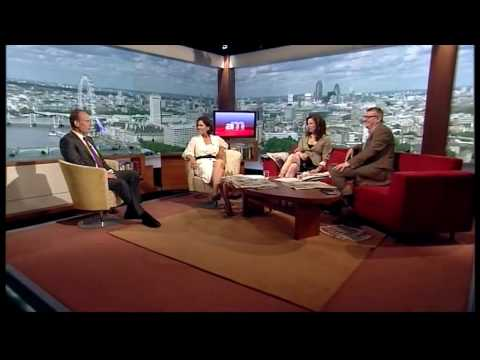 Andrew Marr misses the start of his own show! (Andrew Marr Show, 16.5.10)