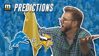 Detroit Lions vs. Minnesota Vikings final score predictions