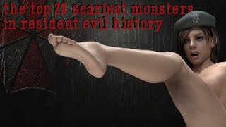 The Top 20 Scariest Monsters in Resident Evil History HD - バイオハザードの歴史の中でトップ20怖いモンスター