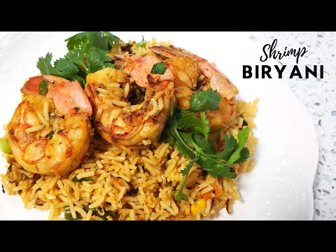 Shrimp Biryani || Biryani Fried Rice- Episode 98