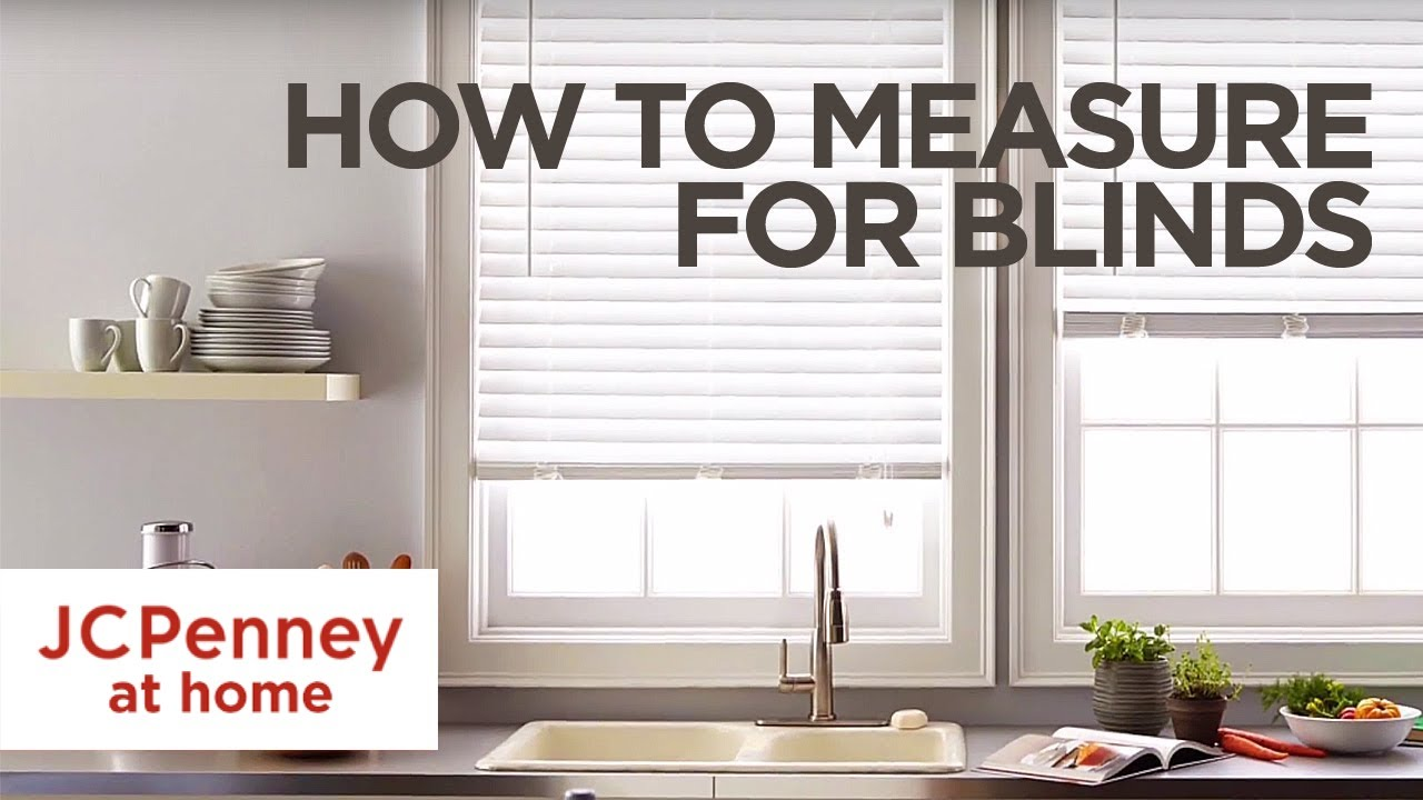 how to measure for blinds and shades youtube. Black Bedroom Furniture Sets. Home Design Ideas