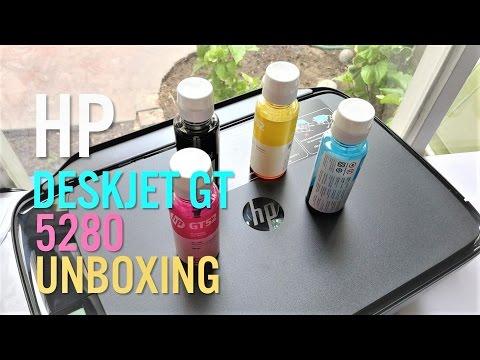 Unboxing: HP DeskJet GT 5820, impresora de tinta contínua