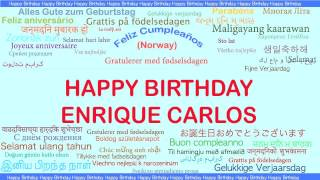 Enrique Carlos   Languages Idiomas - Happy Birthday