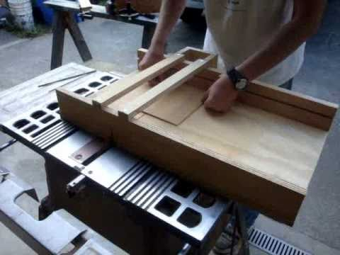 Make a table saw crosscut sled for your wood shop