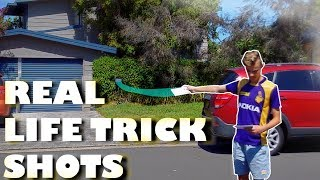 REAL LIFE TRICK SHOTS 3 (Better than Dude Perfect?)