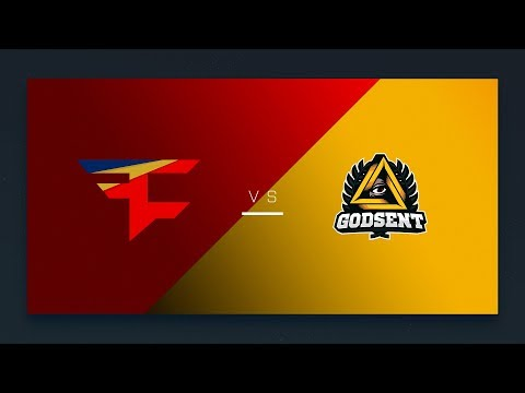 CS:GO - FaZe vs. GODSENT [Cbble] Map 1 - EU Day 21 - ESL Pro League Season 6