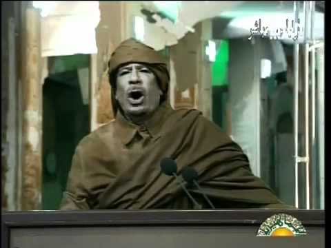 Muammar Gaddafi Speech Translated (2011 Feb 22) video