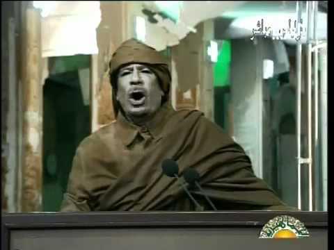 Muammar Gaddafi speech TRANSLATED (2011 Feb 22)