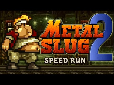 METAL SLUG 2 - 100% Complete Speed Run (All Secrets) 480p