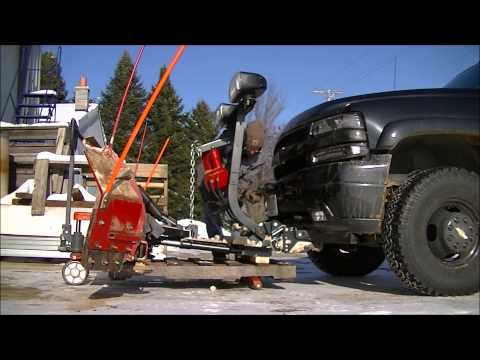 Mounting Amp Unmounting My Plow How To Save Money And Do