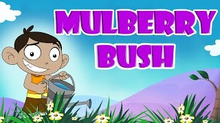 Here We Go Round the Mulberry Bush|Popular Rhymes for Children|Laughingdotskids Nursery Rhymes