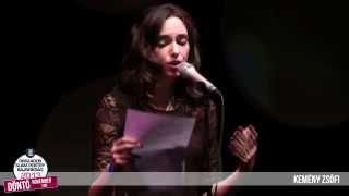 KEMÉNY ZSÓFI - II. Országos Slam Poetry Bajnokság DÖNTŐ