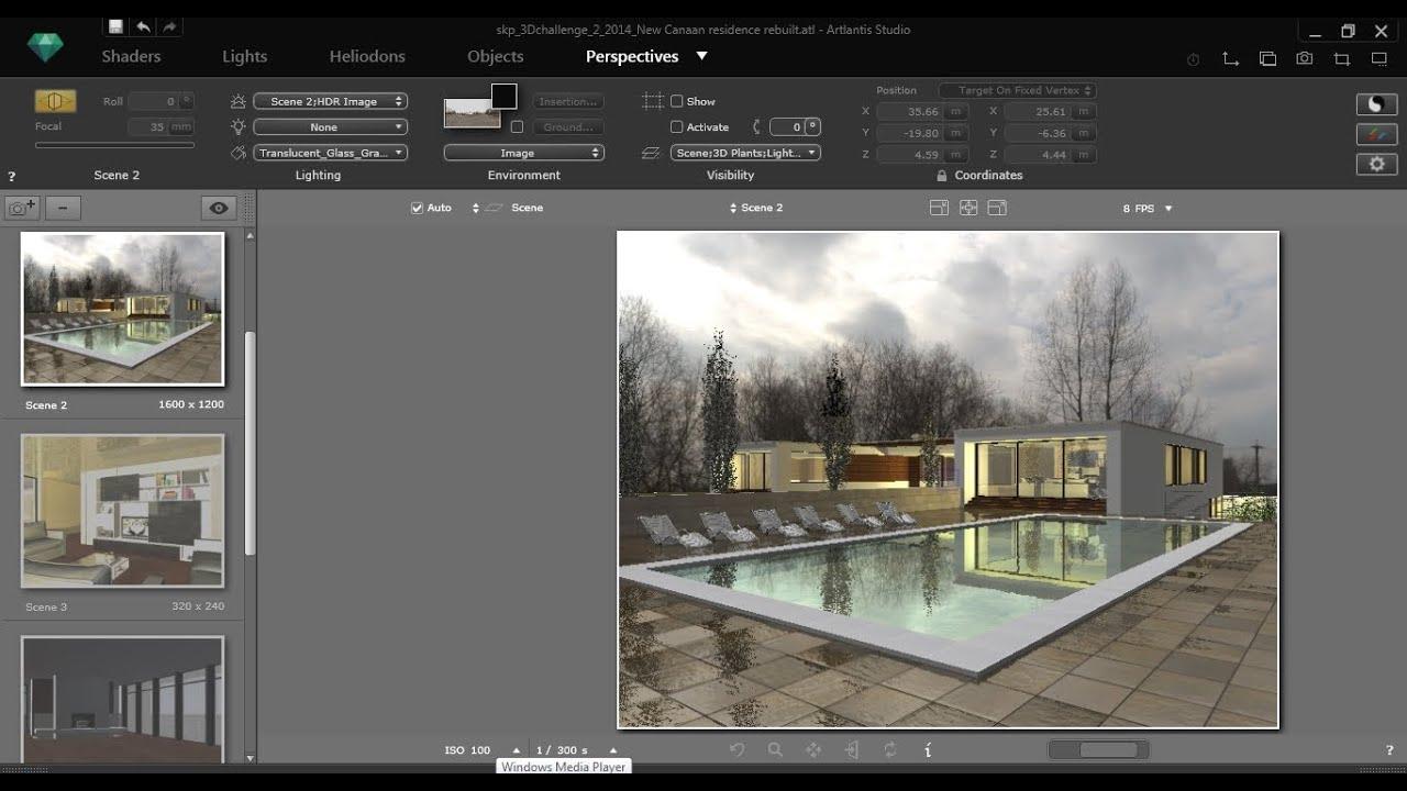 artlantis 5 tutorial 1 1 youtube. Black Bedroom Furniture Sets. Home Design Ideas