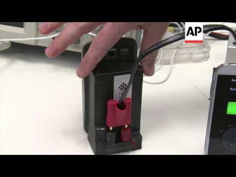 Battery charges smart phone in thirty seconds