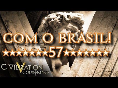 CIVILIZATION V com o Brasil #57 - INVESTINDO EM AVIÕES DE GUERRA!!!