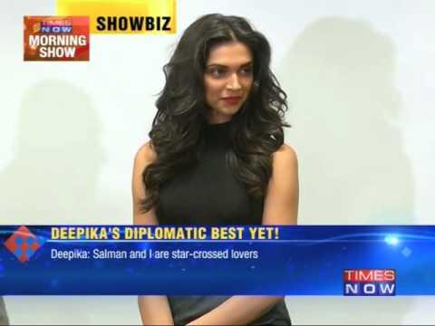 Deepika Padukone's diplomatic best yet!