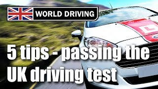 Secret To Passing Your UK Driving Test 2019? Tips For Passing The Driving Test