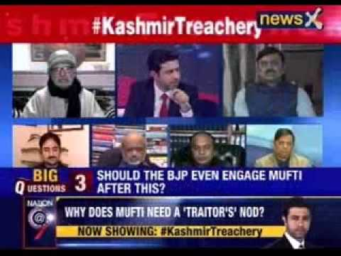 Nation at 9: #KashmirTreachery- 'Traitor' to clear PDP-BJP tie-up?