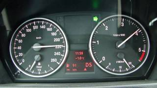 New BMW 320d Coupe E92 MY 2010 (184 PS) 0-220 km/h acceleration