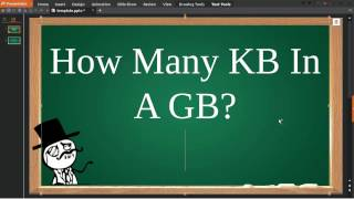 How Many Kb In A Gb