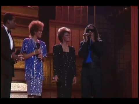 Dionne Warwick, Stevie Wonder, Whitney Houston, Luther Vandross