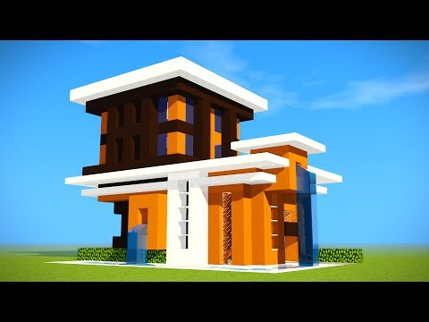 Minecraft: Survival Starter House Tutorial - How to Build a Modern House in Minecraft