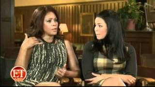 Whitney Houston & Jordin Sparks entire Entertainment Tonight Excl. Interview (more volume)