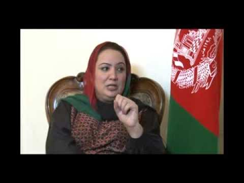 Copy of Political agenda of Parliament with Ms. Shukriya Barakzai  (AREZU TV Kabul) 2013