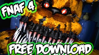 "How To Download ""FNAF 4"" For Free (100% Working)"