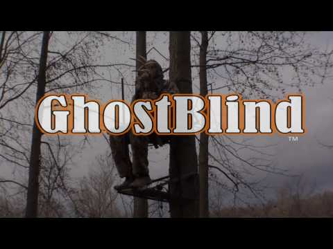 GhostBlind #4 - Perfect Ground Hunting Blind for