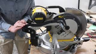 Fixing a wobbly miter saw