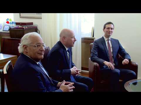 PM Netanyahu meets with Jared Kushner and Jason Greenblatt