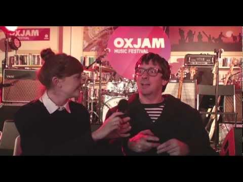 Graham Coxon interview at Oxjam Music Festival 2012