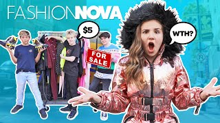 HE SOLD MY CLOTHES Prank!? My Crush REACTS to Fashion Nova Outfits Challenge 🥺💔| Piper Rockelle