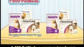 PetMeds Commercial: Save on Name Brand Medications for Your Dog or Cat