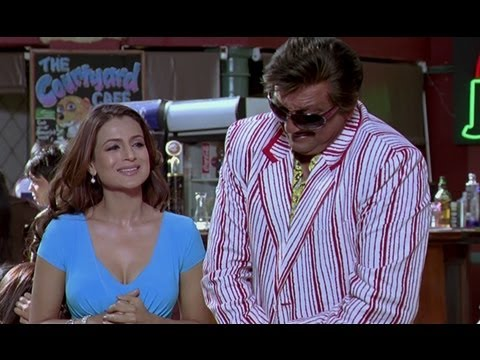 Sanjay Dutt Tries To Impress Ameesha Patel - Chatur Singh Two Star