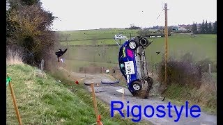 Best Of Rallye Crash Compilation By Rigostyle #rally #crash #fails