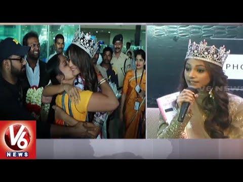 Femina Miss India 2018 Anukreethy Vas Eyes On Winning Miss World Contest | V6 News