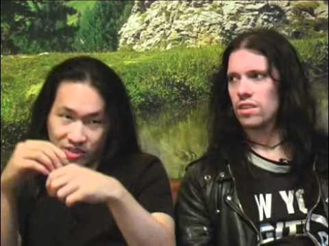 Dragonforce interview - Herman Li and Sam Totman (part 3)
