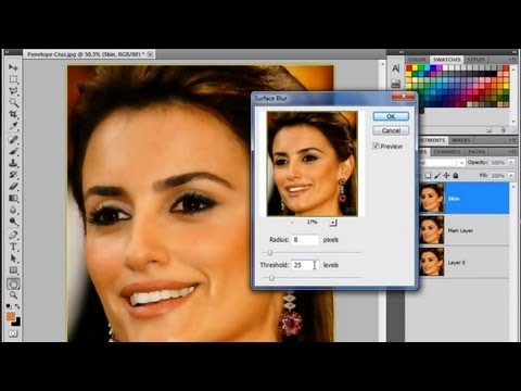 01. Photo Retouching - Photoshop Tutorial [In Hindi]