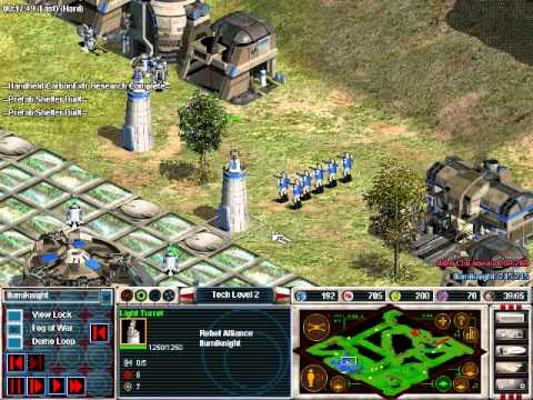 Star Wars Galactic Battlegrounds Clone Campaigns Vs Hard Computer