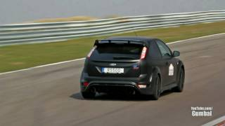 Ford Focus RS500 vs Renault Megane RS vs BMW 1 Series M Coupe