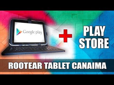 Rootear Tablet Canaima TR10RS1/CS1 E Instalar Google Play