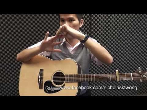 #28 曾沛慈 - 一个人想着一个人  建德吉他教学课程