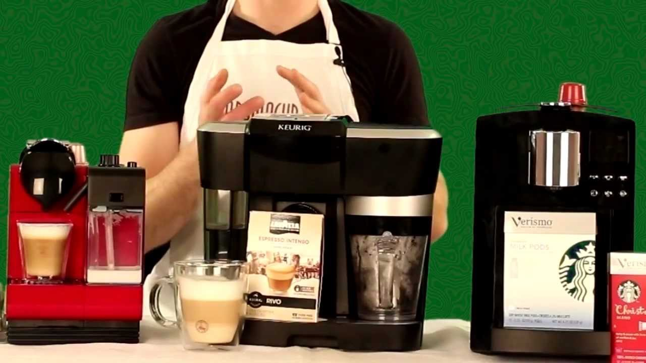 Nespresso Lattissima Plus vs Keurig Rivo vs Starbucks Verismo - exclusive Review and Comparison ...
